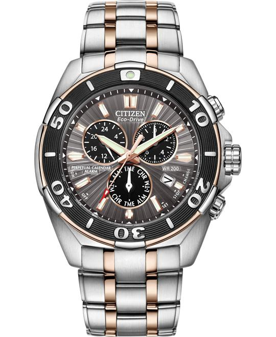 đồng hồ CITIZEN Signature Perpetual Eco-Drive Watch 43mm