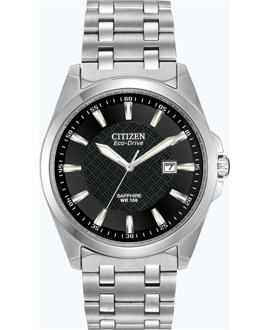 CITIZEN Corso Eco Drive Black Men's Watch 41mm