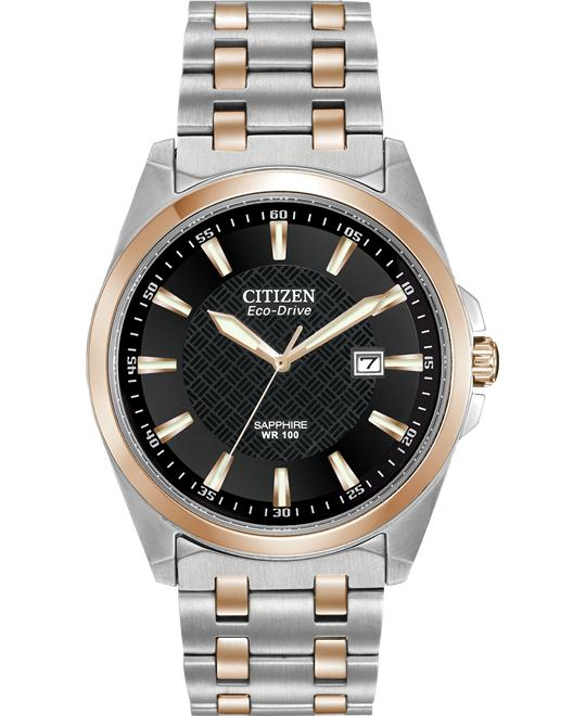 "Citizen Men's ""Corso"" Eco-Drive Stainless Watch, 40mm"