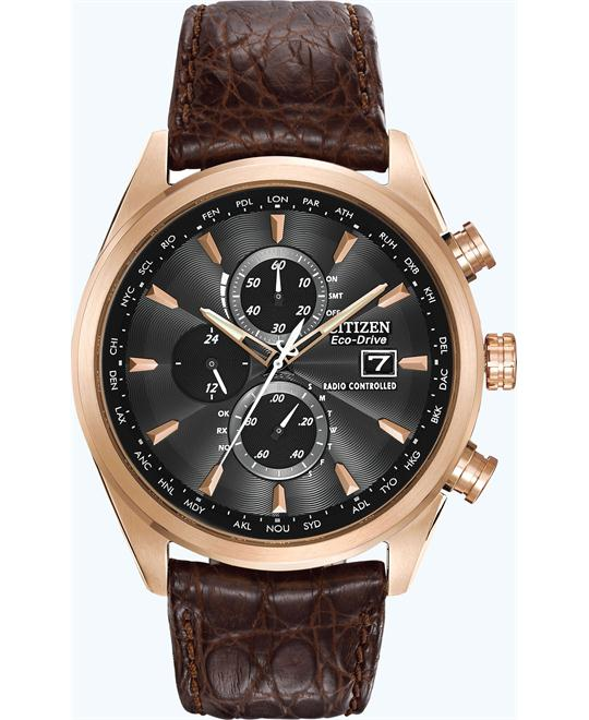 Citizen Men's Eco-Drive Chronograph Dress Watch, 43mm