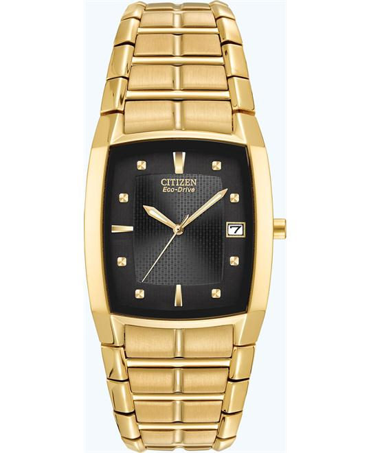 CITIZEN Eco Drive Gold Men's Watch 31x33mm