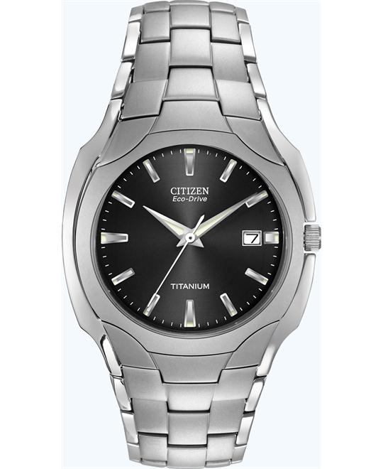 CITIZEN Eco Drive Titanium Men's  Watch 38mm