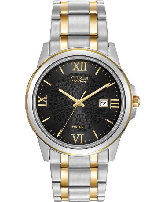 Citizen Men's Eco-Drive Two-Tone Watch, 40mm