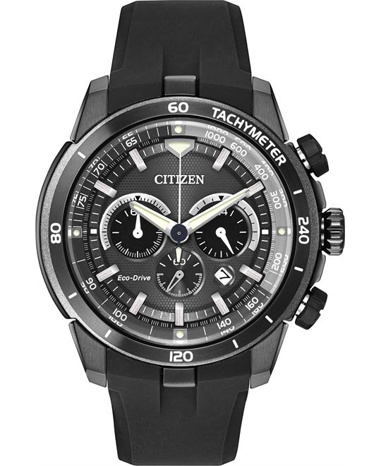 Citizen Men's Ecosphere Display Japanese Watch, 48mm