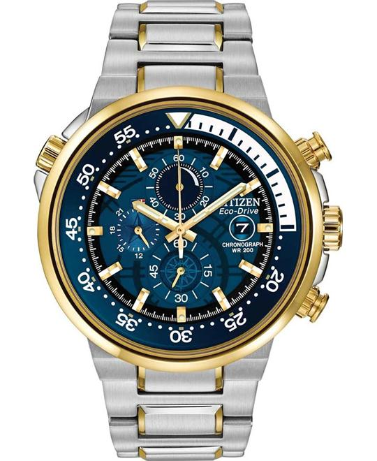 Citizen Men's Endeavor Japanese Watch, 46mm
