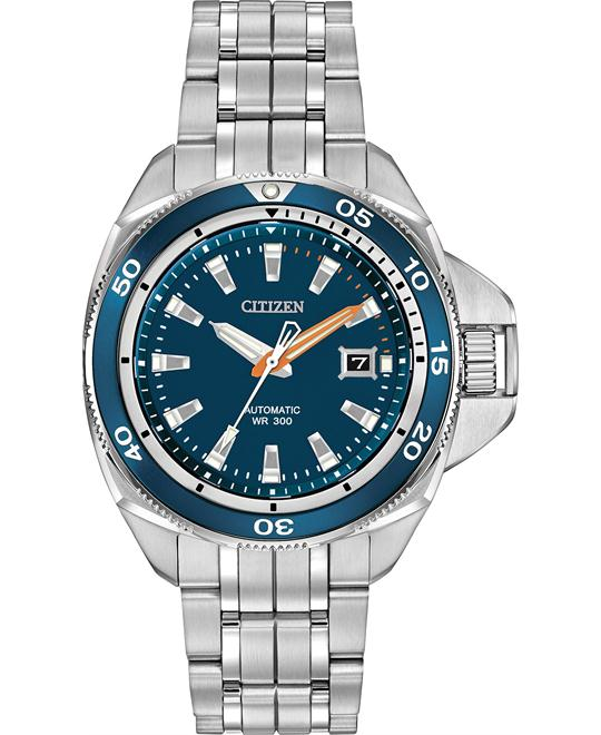 Citizen Men's Grand Touring Automatic Self Watch, 44mm