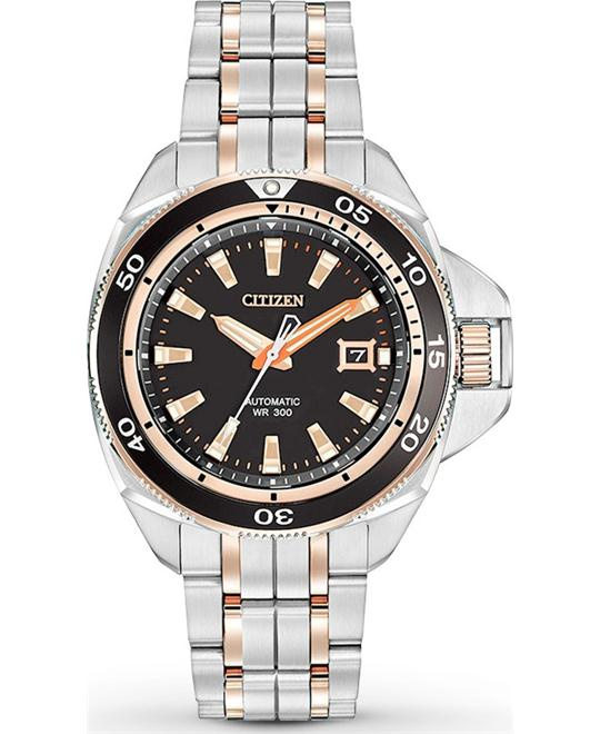 Citizen Men's Grand Touring Automatic Self Watch, 45mm