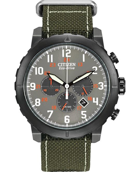 Citizen Men's Military Green Watch, 45mm