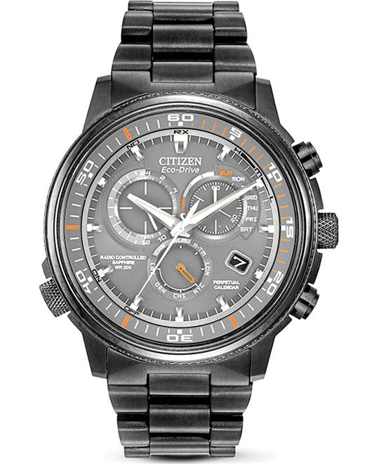 "Citizen Men's ""Nighthawk A-T"" Eco-Drive Watch, 44mm"