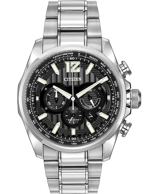 Citizen Men's Shadowhawk Japanese Watch 43mm