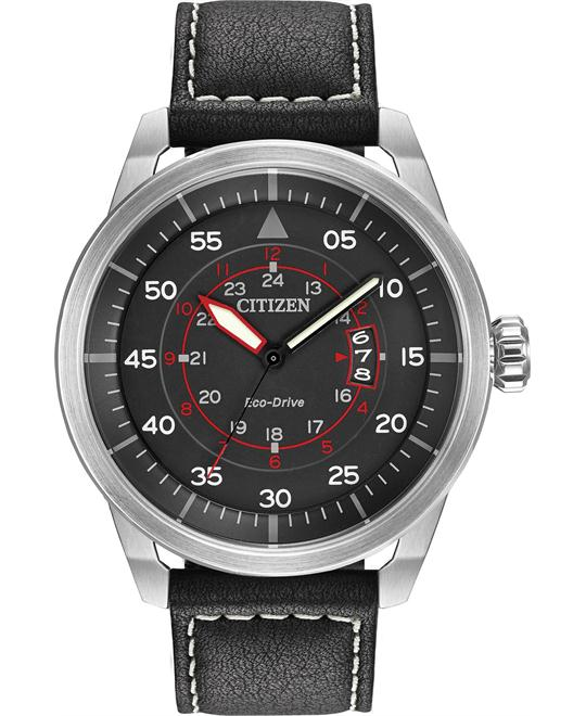 CITIZEN Avion Dark Grey Men's Watch 45mm