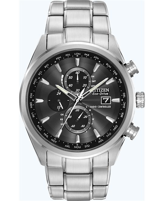 Citizen Men's Stainless Eco-Drive Dress Watch, 44mm