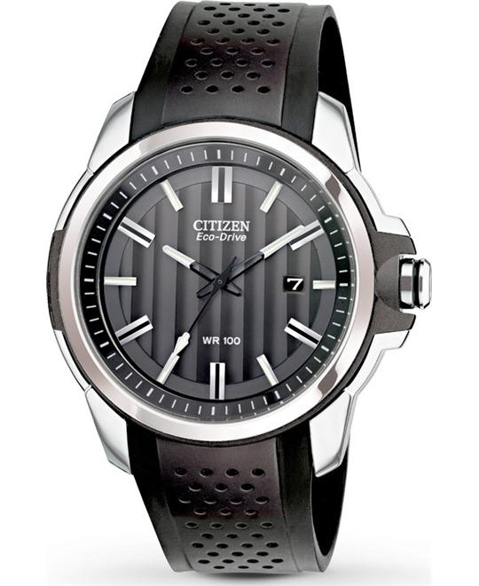 Citizen Men's Stainless Steel Eco-Drive Watch 41mm