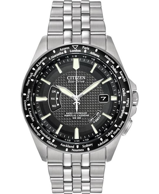 Citizen World Perpetual A-T Dress Men's Watch 44mm