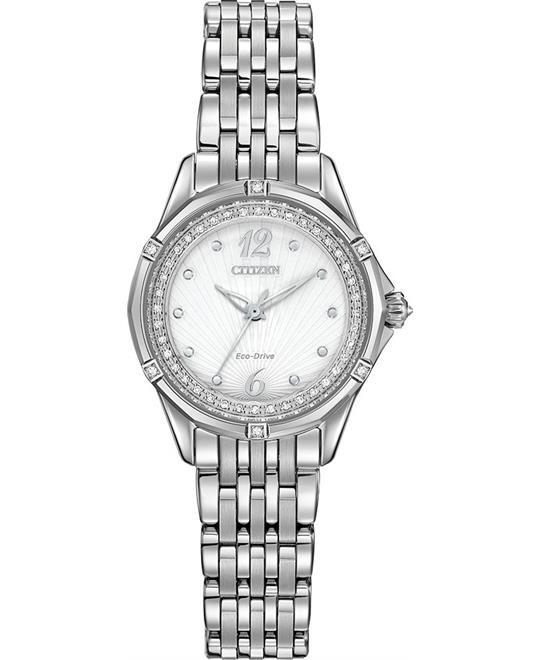 đồng hồ Citizen Versaille Signature Silver Watch 30mm
