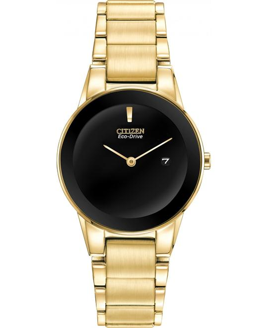 Citizen   Axiom Japanese Gold Women's Watch 30mm