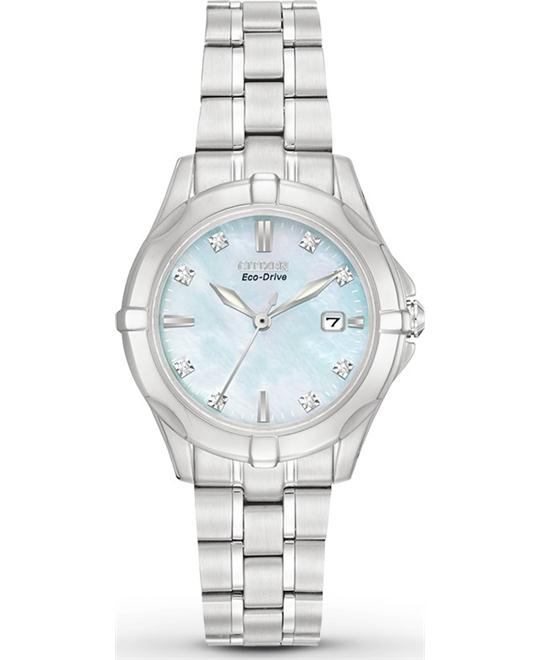 Citizen Women's Diamonds Japanese Watch, 26.5mm