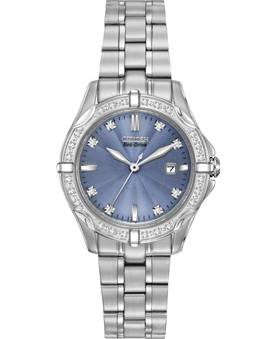 Citizen Women's Diamonds Japanese Watch, 29mm