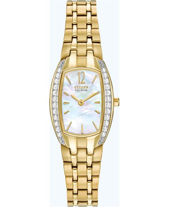 "Citizen Women's ""Eco-Drive"" Silhouette Watch, 20mm"