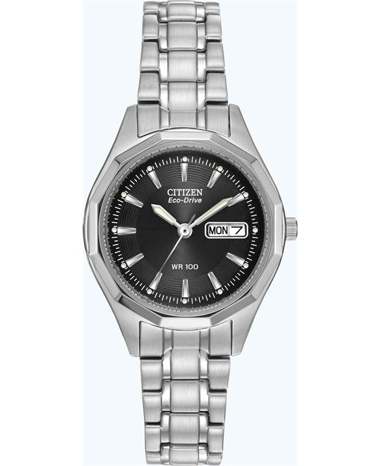Citizen Eco-Drive Stainless Sport Watch 26mm
