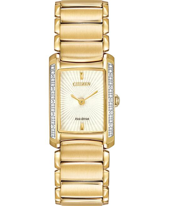 Citizen Women's Euphoria Japanese Gold Watch, 20mm