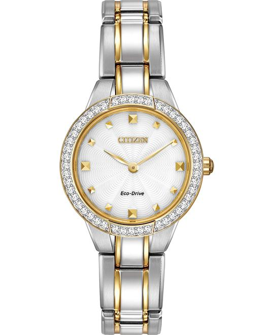 Citizen Women's Silhouette Display Japanese Watch, 27mm