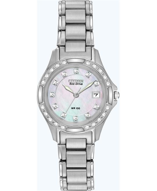 Citizen Women's Silhouette Eco Drive Watch, 26mm