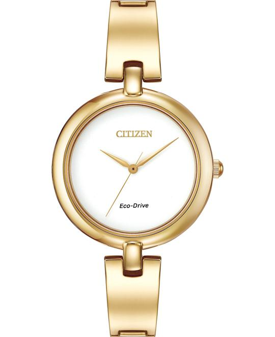 "Citizen Women's ""Silhouette"" Eco Drive Watch, 34mm"