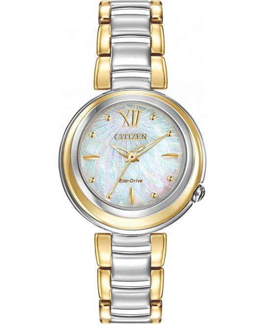 CITIZEN L SUNRISE ANALOG WOMEN'S WATCH 30mm