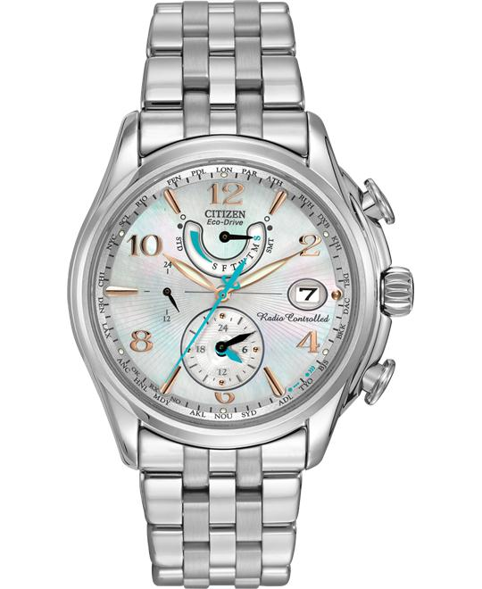 Citizen Women's World Time A-T Eco-Drive Watch, 39mm