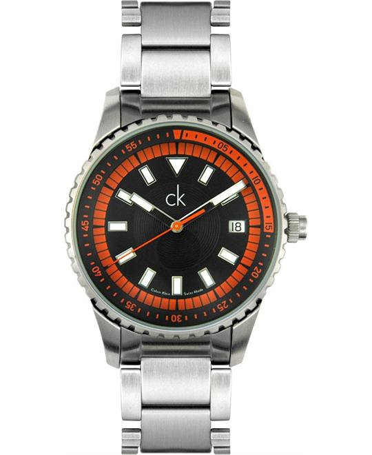 cK Calvin Klein Men's Challenge Collection Watch 40mm