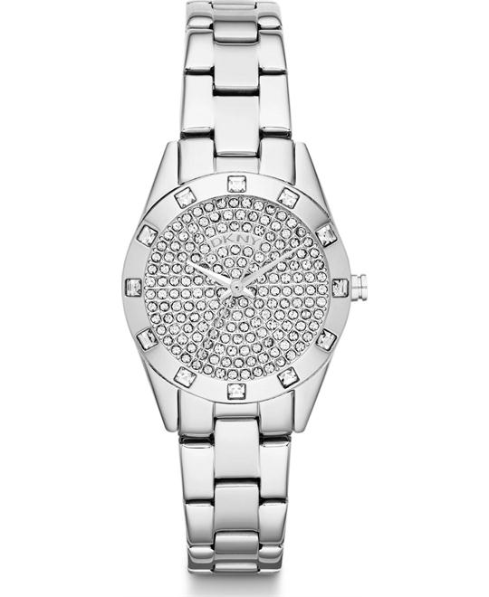 DKNY Silver Bracelet & Case Mineral Women's Watch, 28mm
