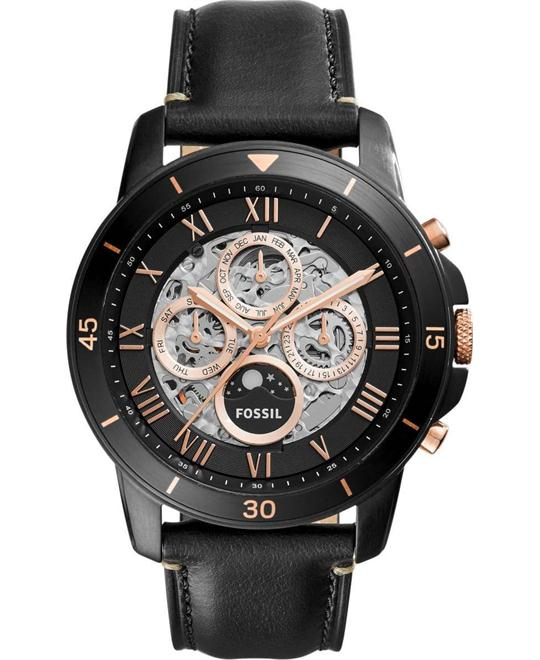 đồng hồ Fossil Grant Skeleton Dial Automatic Men's 45mm
