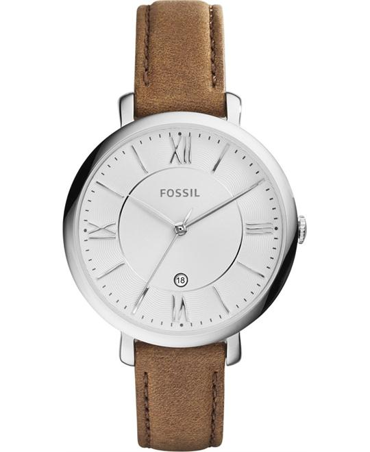 Fossil Jacqueline Saddle Leather Women's Watch 36mm