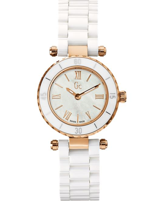 Guess Gc Mini Chic Ceramic Ladies Watch, 28mm