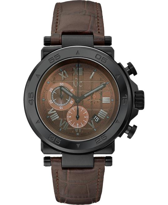 GUESS Men's Gc-1 Sport Timepiece - Brown, 44mm