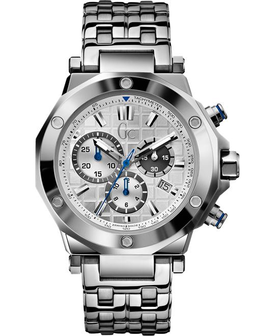 Guess Sport Chic Anti-Reflective Sapphire Men's Watch, 44mm