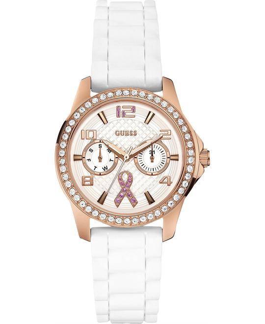 GUESS Awareness Women's Watch Silicone, 36mm