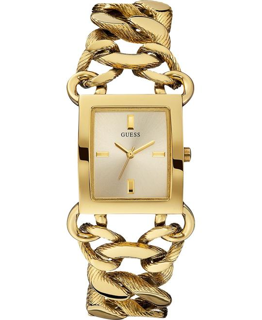 GUESS ChainWomen's Gold-Tone Watch 30x27mm