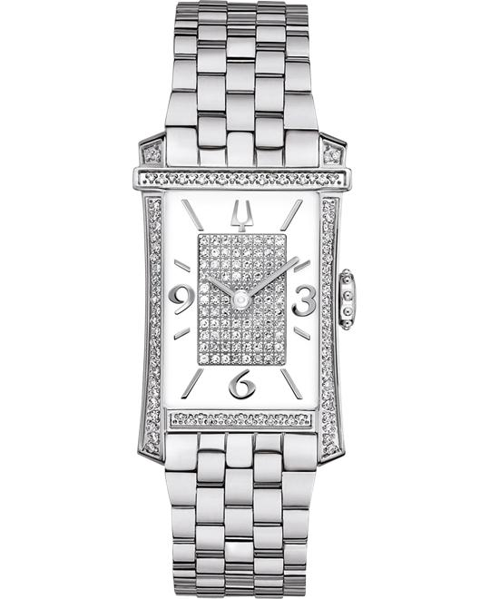 Bulova Ladies' Diamond Gallery Collection 22mm