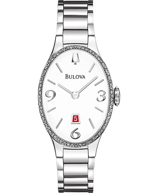 Bulova Ladies' Diamond Gallery collection, 25mm