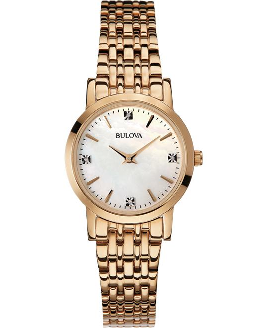 Bulova Ladies' Diamond Gallery Collection Watch 27mm