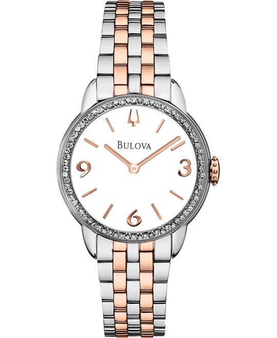 Bulova Ladie's Diamond Gallery Collection Watch, 28mm