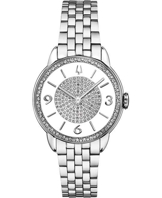 Bulova Ladies' Diamond Gallery Collection, 32mm