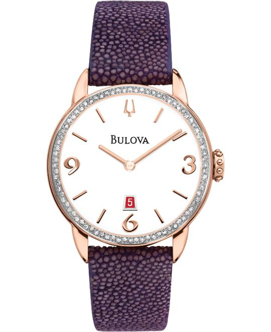 Ladies' Bulova Diamond Gallery Collection 32mm