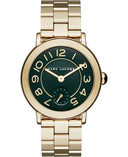 Marc Jacobs Riley Gold-Tone Bracelet Women's Watch 36mm
