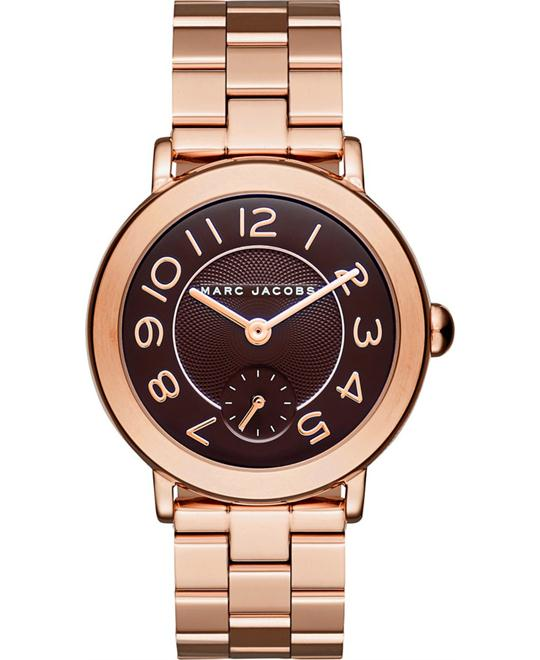 Marc Jacobs Riley Rose Gold-Tone Bracelet Women's Watch 36mm