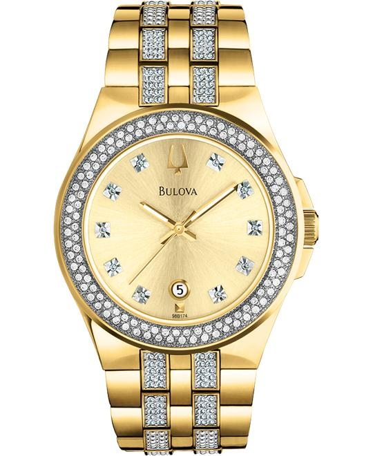 Bulova Men's & Ladies' Crystal Collection 42mm