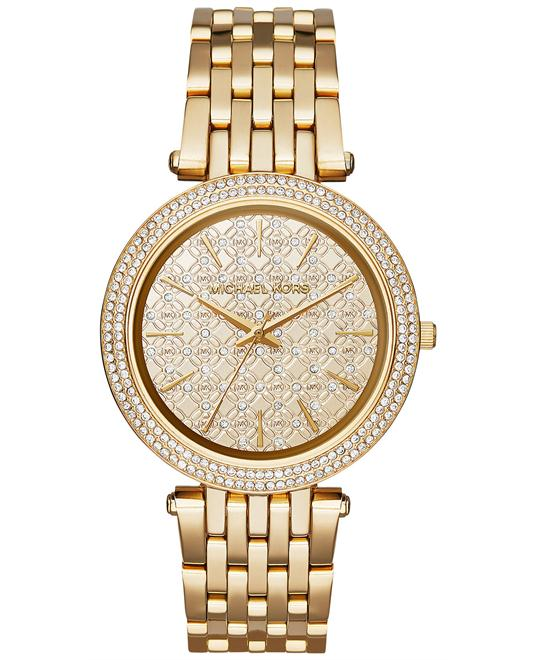 MICHAEL KORS  Darci Pavé Gold Women's Watch 39mm