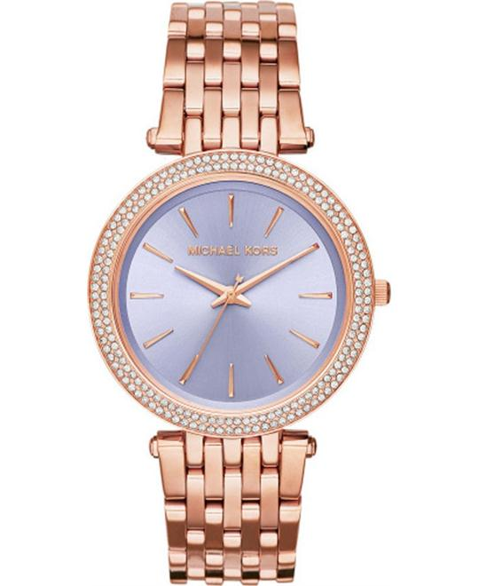 MICHAEL KORS  Darci Pavé Rose Watch 39mm
